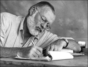 Hemingway gets it done.