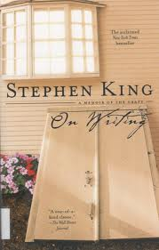 "Cover of Stephen King's book, ""On Writing."""
